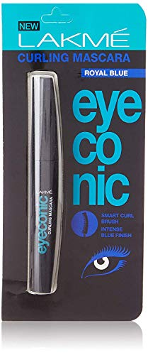 Lakmé Curling Mascara Eyeconic, Bleu Royal, 9 ml