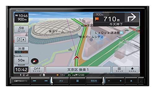 パイオニア カーナビ カロッツェリア 楽ナビ 7型 AVIC-RZ711 無料地図更新/フルセグ/Bluetooth/HDMI/DVD/CD...