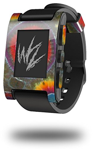 Tie Dye Circles 100 - Decal Style Skin fits original Pebble Smart Watch (WATCH SOLD SEPARATELY)