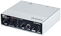The UR12 USB Audio Interface from Steinberg. Nice white design.