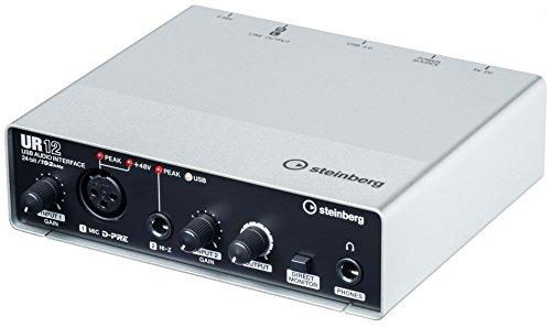 スタインバーグ Steinberg USB2.0 オーディオインターフェース UR12  インターネット配信に便利な機能搭載 ヘッドホン端子付き 音楽制作アプリケーション付き