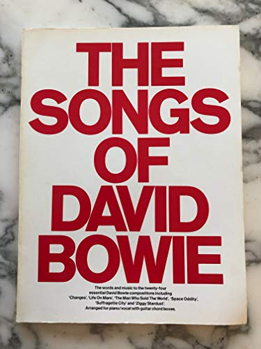 THE SONGS OF - arrangiert für Songbook [Noten/Sheetmusic] Komponist : BOWIE DAVID