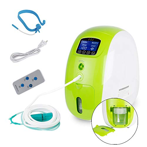 WANGJUN Adjustable 1-5L Flow Rate Portable Inhaler Household Machine Suitable for The Elderly