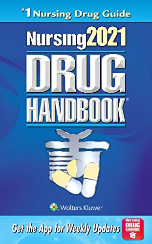 Compare Textbook Prices for Nursing2021 Drug Handbook Nursing Drug Handbook Forty-First Edition ISBN 9781975138394 by Lippincott Williams & Wilkins