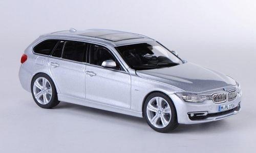 BMW 3er Touring (F31), Silber , 2012, Modellauto, Fertigmodell, 1:43
