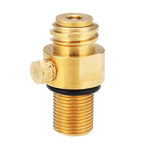CO2-Ventilstift, Faway M18*1,5 Gewinde Ersatz-Ventil CO2 Behälter Messing Ventilstift für Soda Stream