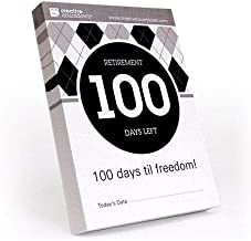 100-day Countdown to Retirement Tear Off Calendar