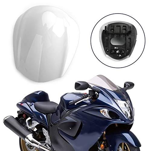 Topteng Motorrad Hinten Sozius-Sitz, Motorrad Fondpassagier Soziusabdeckung ABS Pad Motor Verkleidung Heckabdeckung für Su-zu-ki GSXR 1300 Haya-busa 2008-2017