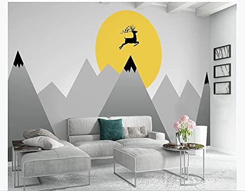 Papel pintado personalizado con foto 3d mural para habitación de niño, personalidad, habitación para niños, revestimiento de fondo-(102.3×68.9inch)