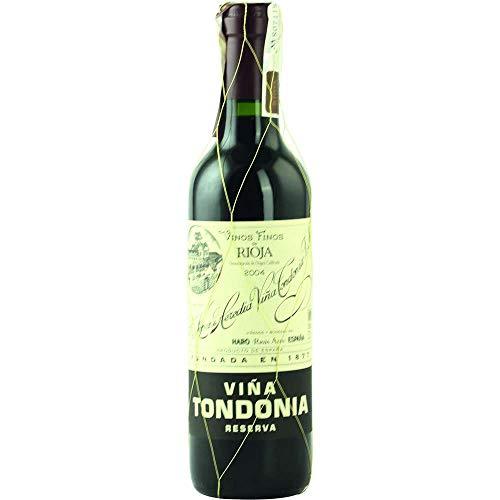 Vina Tondonia Reserva tinto 2004 Rioja Reserva DO Rotwein trocken Lopez de Heredia Vina Tondonia Spanien 375ml-Fl (66,13€/L)