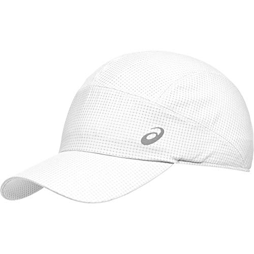 ASICS Lightweight Running Cap Sac Banane Taille Unique Blanc Brillant