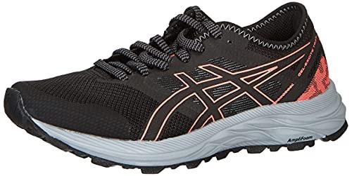 ASICS Gel-Excite Trail, Zapatillas de Running Mujer, Black Blazing Coral, 39.5 EU