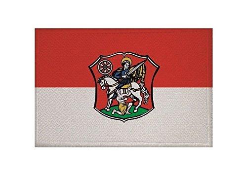U24 Aufnäher Neustadt (Hessen) Fahne Flagge Aufbügler Patch 9 x 6 cm