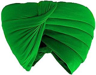 finaldeals Sikh Turban Cotton Rubia Voile Patka Pagri Dastar Fabric Black Color 5metre