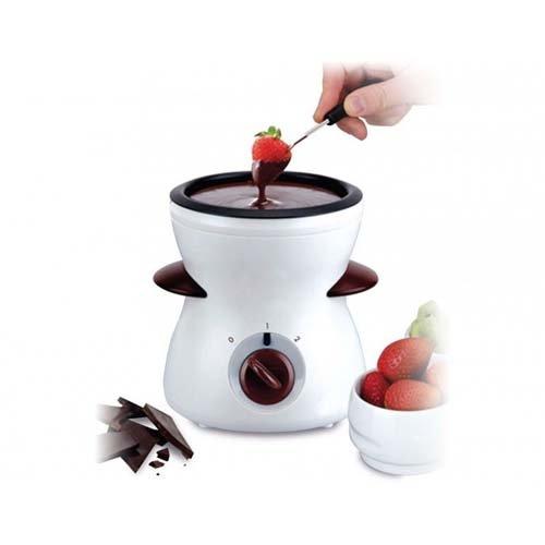 Fuente electrica de chocolate 0,3 litros 25W fondue recubrimiento antiadherente