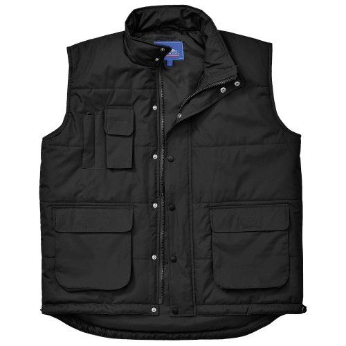 Portwest Classic Bodywarmer Jacket Workwear L Black