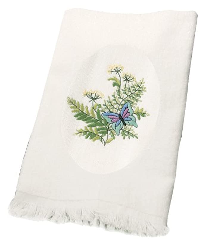 Dimensions Needlecrafts Embroidery, Botanical Butterflies Guest Towels
