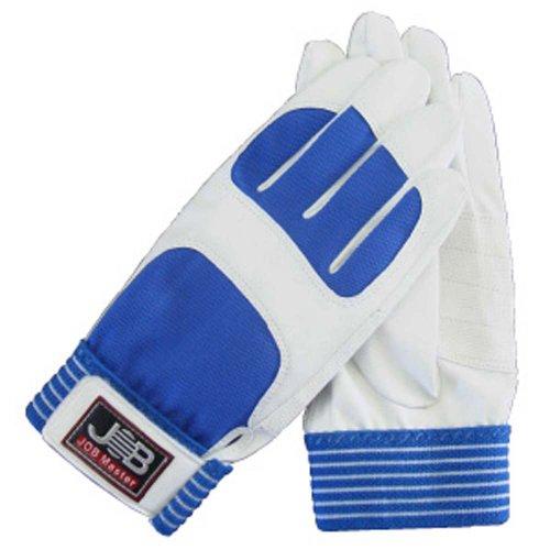 ジョブマスター(JOB Master) 新素材手袋スパイダー1 白 L マジックテープ付 JWG-150WL