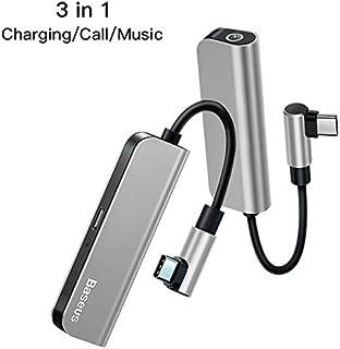 محولات ومحولات الهاتف - PD 18W USB C OTG محول USB نوع C إلى 3.5 مم جاك Type-c Aux موصل صوت لـ Xiaomi mi 9 لـ Samsung S10 S...