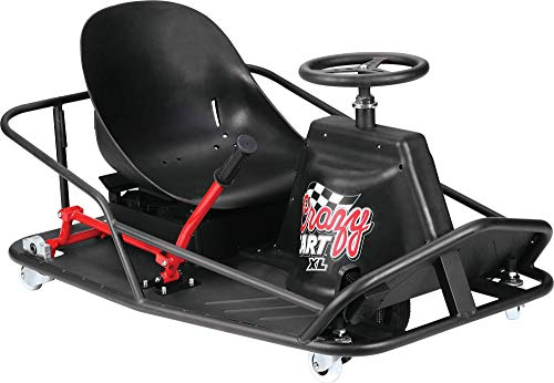 Razor Crazy Cart XL Elektrokart, schwarz, One Size
