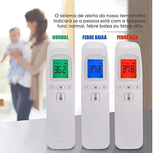 Termômetro Digital Infravermelho Sem Contato Bebê