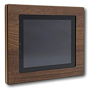 NobleFrames Tablet Wall Mount fürs Smart Home, kompatibel mit Apple iPad 2, 3 und 4 aus Nussholz