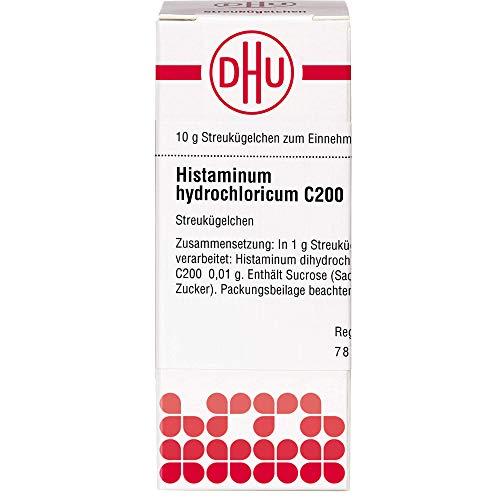 DHU Histaminum hydrochloricum C200 Streukügelchen, 10 g Globuli