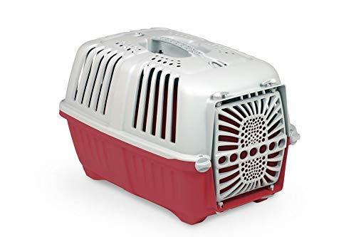 Arquivet Transportin Pratiko - para Mascotas pequeñas - Transporte de plástico para tu Mascota - Perros Adultos, Cachorros, Gatos y Otros - 48 x 31,5 x 33 cm ⭐