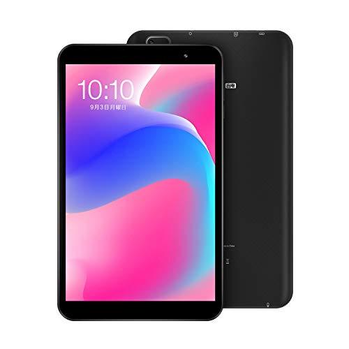 タブレット8インチ、TECLAST P80 タブレット Android 10.0 GO、2GB RAM 32GB ROM、4コアCPU 1.6GHz、タブレットPC Wi-Fiモデル、1280*800 IPS、デュアルWiFi 2.4G/5G、Type-C、デュアルカメラ、Bluetooth 5.0、TF拡張、4000mAh