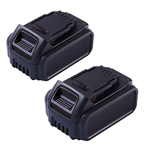 2 Packs Lithium Ion Replace for Dewalt 20V MAX Battery DCB205 DCB205-2 DCB204 DCB203 DCB201