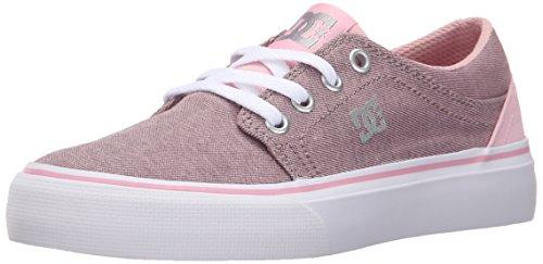DC–joven Trase TX SE zapatos, Pink/White, 38 EU
