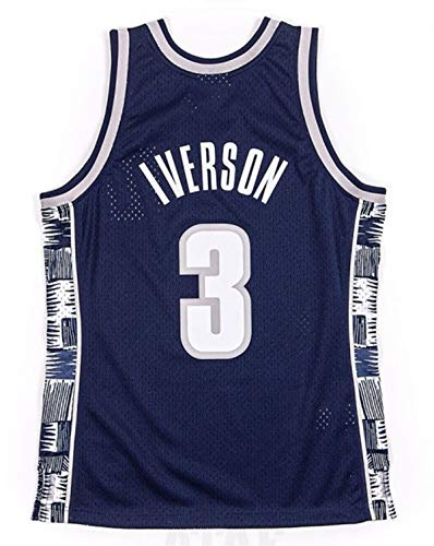 Mitchell & Ness Allen Iverson Men's Georgetown Jersey (X-Large)