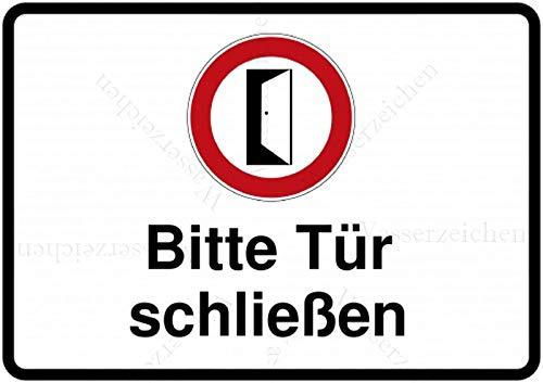 Sticker-Designs 15cm! Aufkleber-Folie Wetterfest Made IN Germany Bitte LEISE schließen geschlossen halten Nicht offen Lassen S643 UV&Waschanlagenfest-Auto-Vinyl-Sticker Decal Profi Qualität