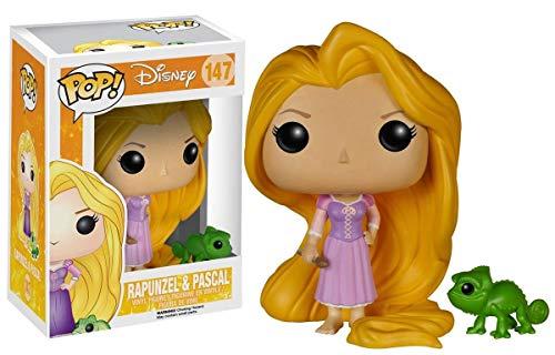 Enredados Funko POP Figura Rapunzel & Pascal 9 cm