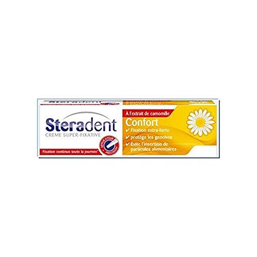 STERADENT Crème Fixative Confort à la Camomille Tube de 40 g