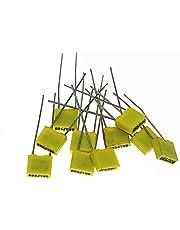 JSJJAUA Condensadores 240 unids/Caja 63V 100v 24Value Correction Correction Capacitador Kit de Paquete de Polipropileno Capacitador de película de plástico