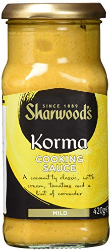Sharwood`s Korma Kochsauce, 3er Pack (3 x 420 g)
