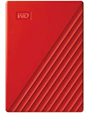 WD 2TB My Passport Taşınabilir Harici Hard Disk, Kırmızı, BYVG0020BRD, WESN