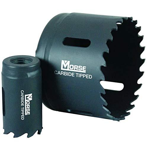 M.K. Morse Holesaw 46mm Carbide Tipped Bimetal M42 High Speed Steel