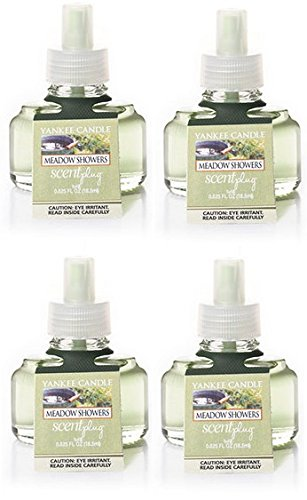 Yankee Candle Meadow Showers ScentPlug Refill 4-Pack