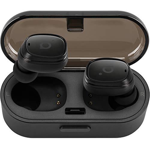 acme BH410 Bluetooth Kabellose Kopfhörer | In Ear Drahtlose Sport Ohrhörer | Wireless Earbuds, Eingebautes Mikrofon, Schwarz