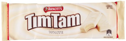 Tim Tam Chocolate Biscuit | White Chocolate | von Arnott's