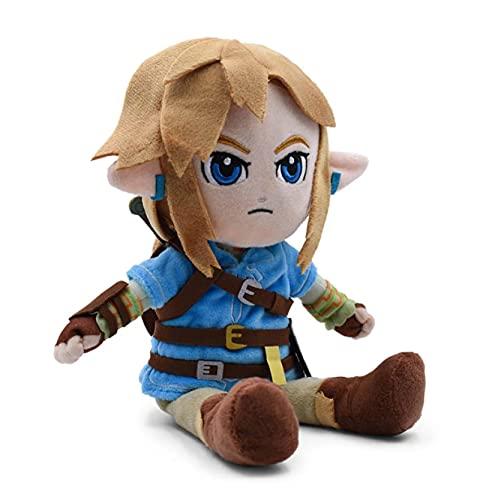 Cute Link Boy Zelda Peluche De Juguete, Figura Linda De Dibujos Animados, Juguetes Blandos, Muñecos De Animales De Peluche De Anime, para Niños, Cumpleaños, 27 Cm