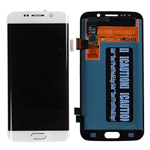 IPartsBuy LCD-scherm + Touch Screen Digitizer Vergadering Vervanging for Samsung Galaxy S6 edge / G925 Accessory Verwisselbare Replacement (Color : White)