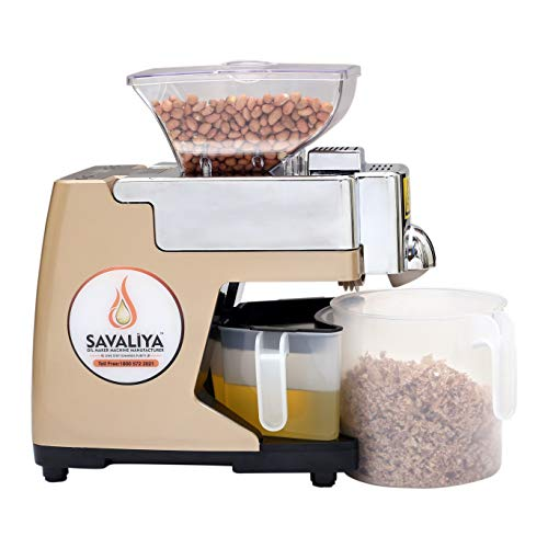 Savaliya Industries Fully Automatic Oil Maker Machine and Cold Press...