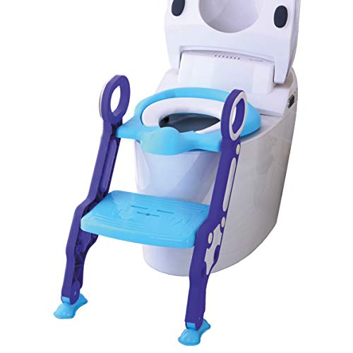 ZYBUX - Potty Toilet Seat Adjustable Baby Toddler Kid Toilet Trainer with...