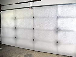 top rated White reflective foam core kit for NASA TECH 2 car garage door insulation 18ft (width) x 8ft (height) R… 2021