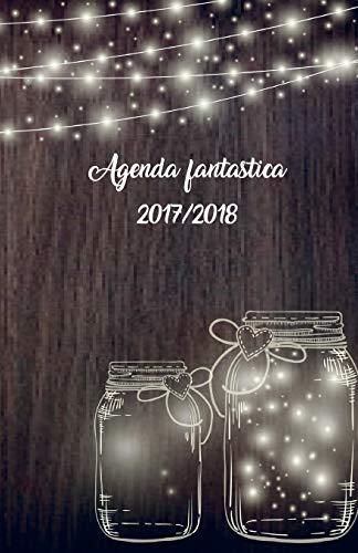 Agenda fantástica 2017/2018: interior blanco y negro
