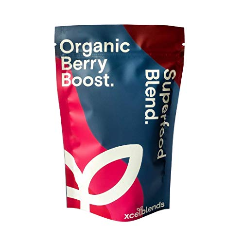 Berry Boost Superfood Powder 150g 30 day supply- Vegan & Organic certified supplement | Boosts immunity, heart health & lowers stress | The first Berry Blend to target both PHYSICAL and MENTAL health!