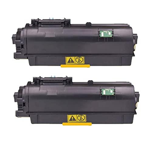 GYYG para Kyocera TK1163 Cartucho de tóner de Repuesto para Impresora Kyocera Ecosys P2040dn 2040dw con Chip, Tambor fotosensible Negro, impresión HD, Suministros educati 2-Black